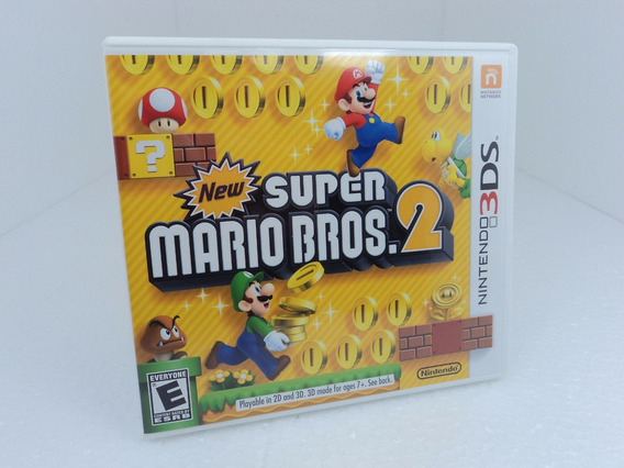 New Super Mario Bros. 2 Nintendo 3ds - Ótimo Estado!!!