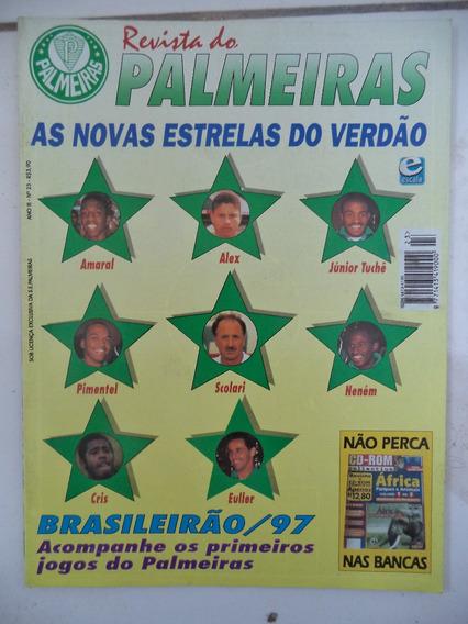 Revista Do Palmeiras Nº 23 - Felipão Alex Euler Paulo Paixão