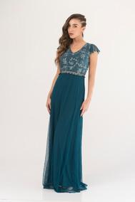 4491a368c1 Vestido Color Azul Petroleo - Ropa y Accesorios en Mercado Libre ...