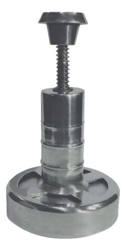 Hamburguesera Manual X Golpe Fundición Aluminio 12 Cm Diámetro
