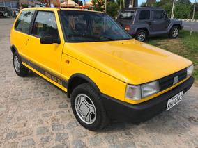Uno 1.5 R 1989 Raridade Fiat Altissimo Indice De Originalida