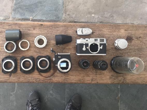 Câmera Leica M2, Summicron 35mm F2, Focotar 50mm F4.5 E Mais