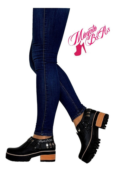 Zapatos Mujer Taco Palo Charol Primavera 2019 Mugato-bsas®