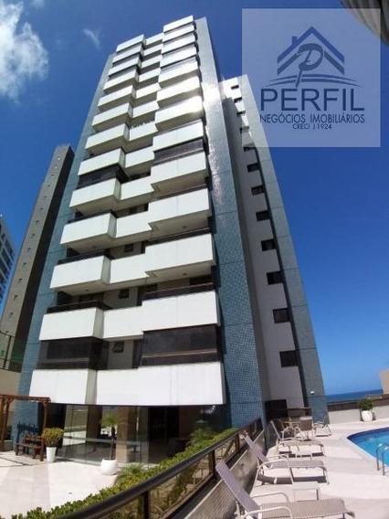 Apartamento Para Venda Em Salvador, Patamares, 4 Dormitórios, 3 Suítes, 4 Banheiros, 3 Vagas - 481