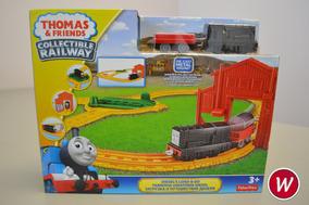 Thomas E Friends Ferrovia Giratória Do Diesel Mattel Bhr96