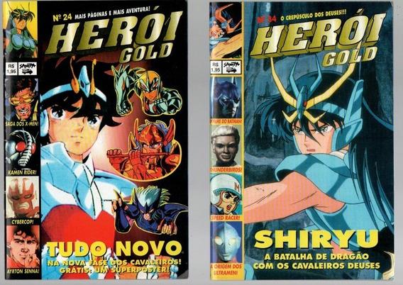 Revista Herói Gold Nº 24,34,51 (184)