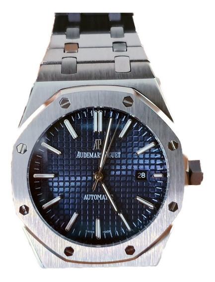 Reloj Tipo Audemars Piguet Royal Oak Acero-azul 350259svbl