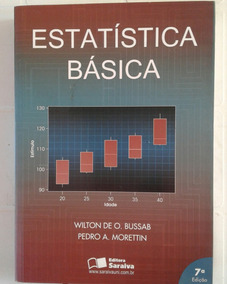 Estatísticas Básica Wilton Bussab, Pedro Morettin