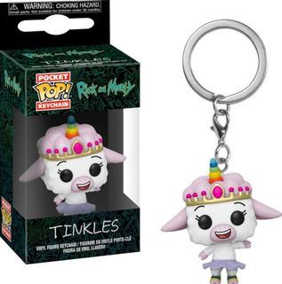 Funko Pop Llavero Tinkles Serie Rick And Morty Unicornio