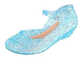Zapatos De La Princesa De Los Niños De Plástico De Vidrio Ce