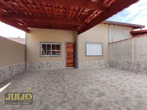 Imagem 1 de 10 de Casa Com 2 Dormitórios À Venda, 92 M² Por R$ 329.900,00 - Nossa Senhora De Fátima - Mongaguá/sp - Ca4148