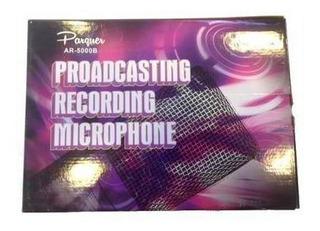Micrófono Vintage Cardiode Parquer Ar-5000b + Estuche