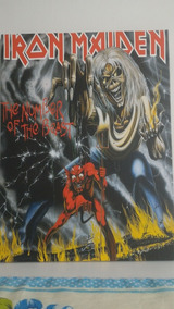 Quadro Decorativo Iron Maiden The Number Of The Beast