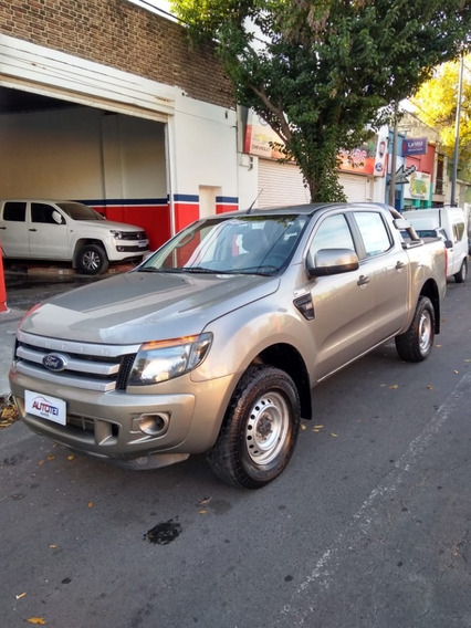 Ford Ranger Xl Safety Dc 4x4 2013 124.000 Km Ocre