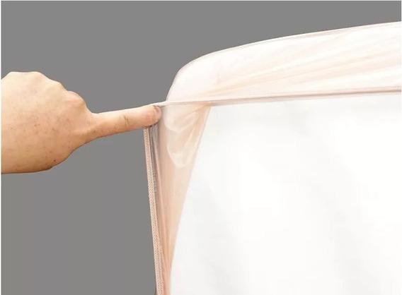 Protetor P/ Colchão Impermeável Siliconizado Elástico Casal