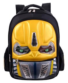 f0f8814d4 Mochila Escolar 3d Transformers Bumblebee Qualidade