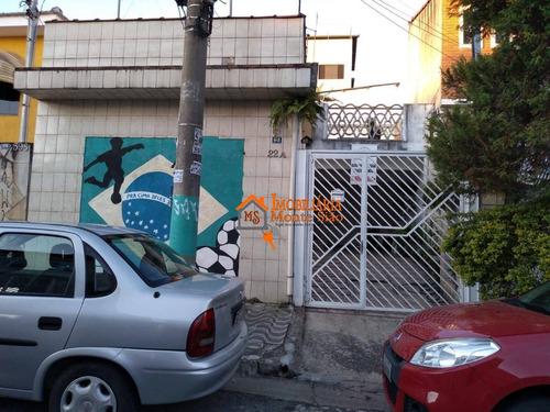 Sobrado Com 2 Dormitórios À Venda Por R$ 400.000,00 - Macedo - Guarulhos/sp - So0738