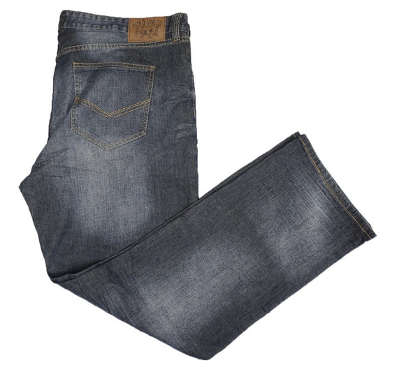 Jeans Ecko 42 X 34 Spandex Original Relaxed Fit