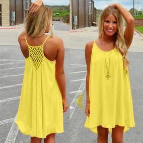 f5f02f8b5 Vestido Color Amarillo Canario Vestidos De Xv - Vestidos de Mujer en ...