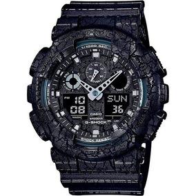Relógio Casio G-shock Ga-100cg-1a Resistente A Choques Nf