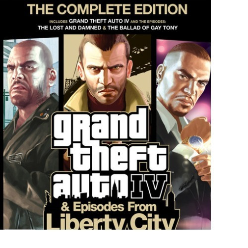 Grand Theft Auto Iv The Complete Edition -pc-dvd