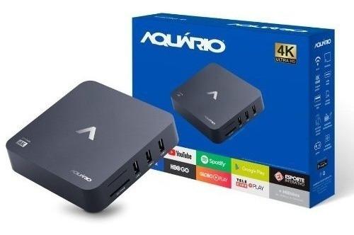 Smart Tv Box 4k Stv-2000 - Aquário