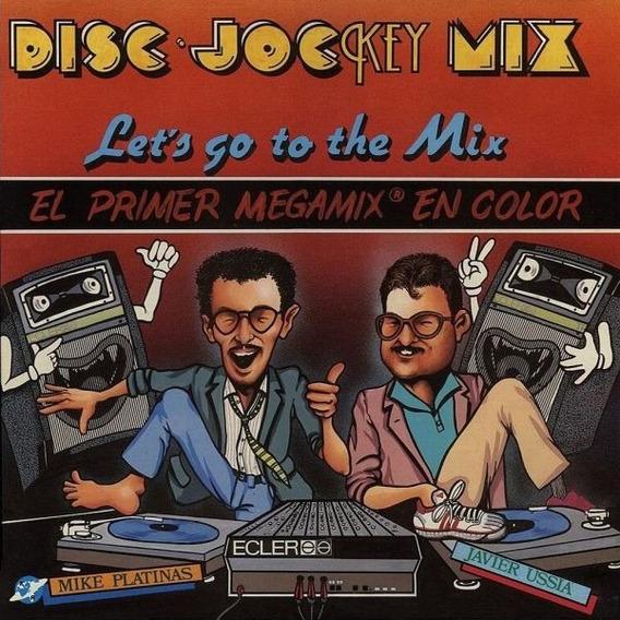 Mike Platinas & Javier Ussia - Disc·jockey Mix Vinilo Blue!