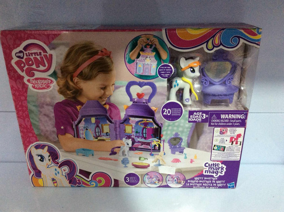 My Little Pony Boutique Da Rarity Da Hasbro B1372