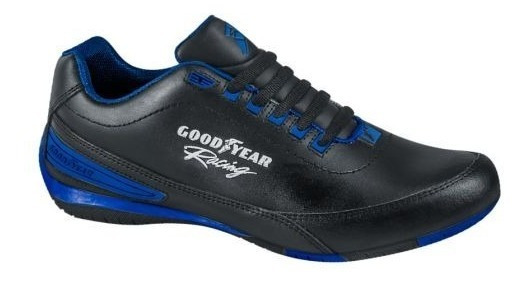 Tenis Goodyear Racing 3821 D 168381 Negro Hombre