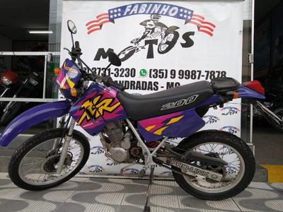 Honda Xr 200 R 1997 Roxa Novíssima!!!