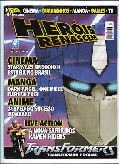 Heróis Renascem Ed 2 Revista Ultra Jovem Transformers
