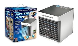 Ventilador Enfriador De Aire Artic Plus + Ventilador De Mano