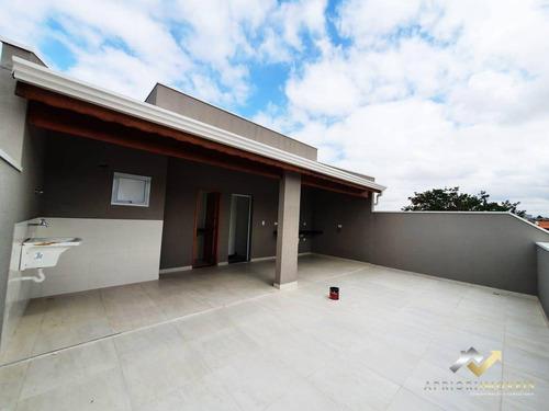 Cobertura À Venda, 104 M² Por R$ 360.000,00 - Vila Alto De Santo André - Santo André/sp - Co0713