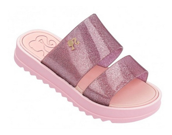Chinelo Tamanco Barbie Princesas Trends Grendene Original Calçado 25/34 Nosso Compromisso Não Gostou Devolve Sem Custo