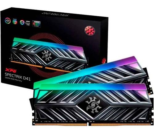 Imagem 1 de 1 de Memoria Ram Xpg Spectrix D41 16gb (2x8gb) Rgb Semi Novo