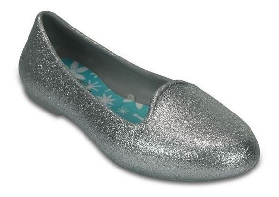 Zapato Crocs Niña Crocs Eve Sparkle Flat