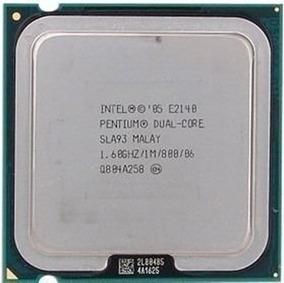 Lote De Processadores Intel Lga 775 Dual-core E2140 5 Peças