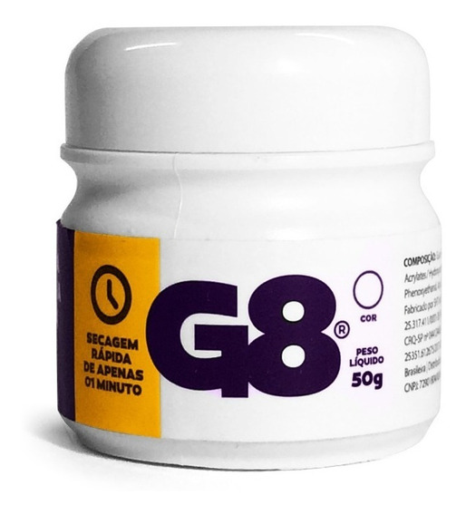 Cola Gel Mega Hair Fita Adesiva G8 Termo Ativada 50gr-01unid