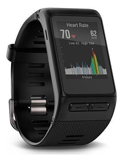 Garmin Vívoactive Hr Gps Smart Watch, Ajuste Regular - Negro