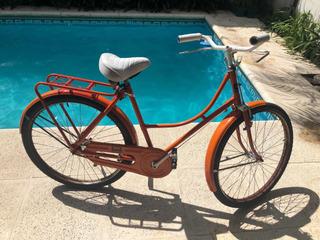 Bicicleta Antigua Inglesa Mujer Reciclada