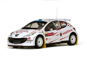Peugeot 207 S2000 2008 Portugal Rally Sunstar 1:18 Sun-5436