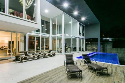 Imagem 1 de 30 de Casa Com 4 Suites À Venda, 545 M² Por R$ 4.500.000 - São Paulo Ii - Cotia/sp - Ca3395