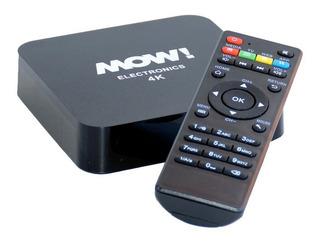 Tv Box Mow Mw-tv Pro 16 Gb 4k Hdmi Usb Android 6.0 *s