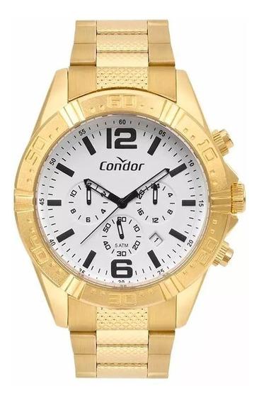 Relógio Condor Masculino Gold Covd33a34aa/4b Original Barato