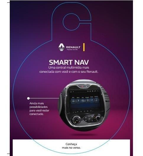 Novo Media Nav Smart Nav 9 + Câmera De Ré Captur 7711733750