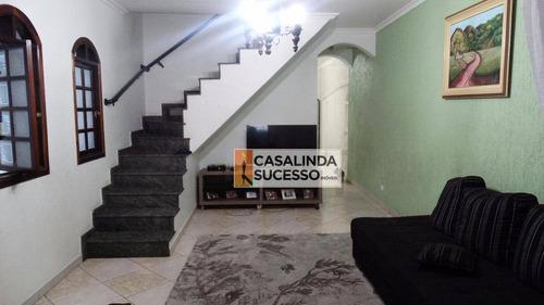Sobrado 300m² 3 Dormts 4 Vagas Próx. Shopping Aricanduva - So0449 - So0449