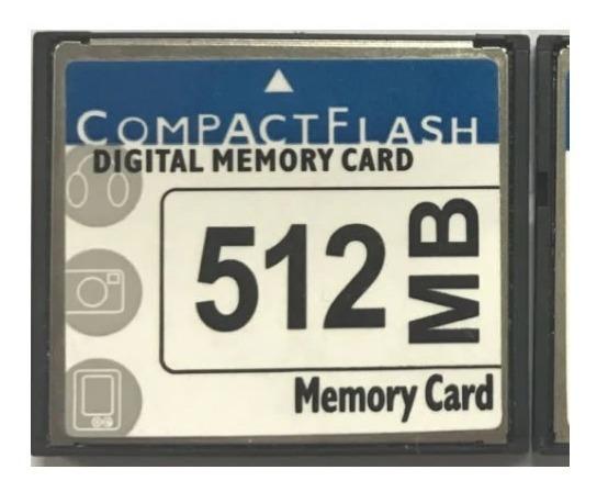 Cartão De Memória Compact Flash 512mb Cf