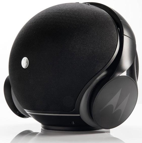 Speaker Motorola Sphere Sp003bk + Fone Pulse Escape Bt