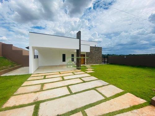 Chácara Com 3 Dormitórios À Venda, 1123 M² Por R$ 870.000,00 - Ibiúna - Ibiúna/sp - Ch0202