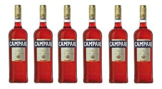 Caja X 6 Campari Bitter 450cc - Caballito / Primera Junta